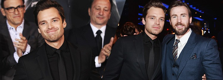 Sebastian Attends The Los Angeles Premiere of Captain America: The Winter Soldier