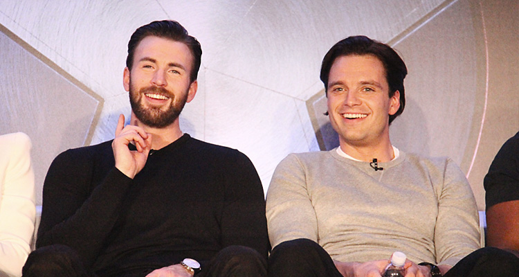 Sebastian Attends 'Civil War' Press Conference & Photocall