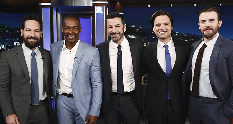 #TeamCap Visits Jimmy Kimmel LIVE