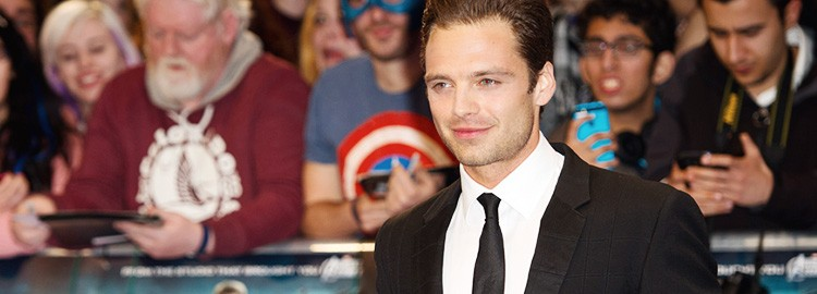 Sebastian Attends The London Premiere of Captain America: The Winter Soldier