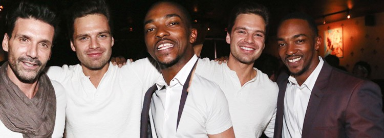 Sebastian Attends Big Chef Bowie's Celebration for Anthony Mackie