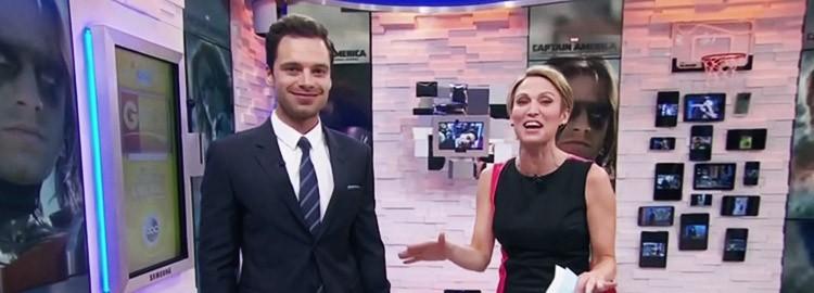 Sebastian Visits Good Morning America! (Video)