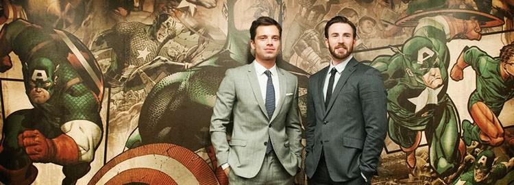 Sebastian & Chris Visit Marvel Headquarters