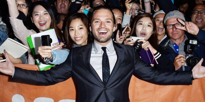 Sebastian Attends the Twentieth Century Fox Premiere Gala for 'The Martian' at TIFF