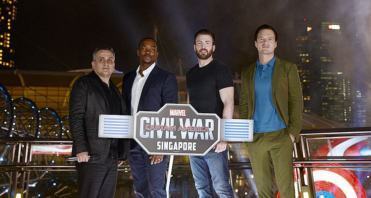 #TeamCap Light Up Marina Bay Sands in Singapore (Photos & Videos)