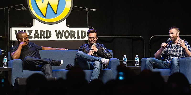 Sebastian Attends Wizard World Philadelphia Day 3