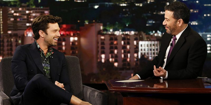 Sebastian Stops by Jimmy Kimmel LIVE to Discuss 'Destroyer'